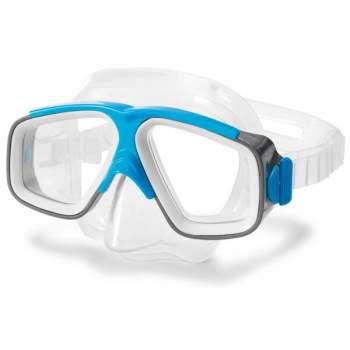 Intex 55975-blue, маска для плавання, сіро-блакитна