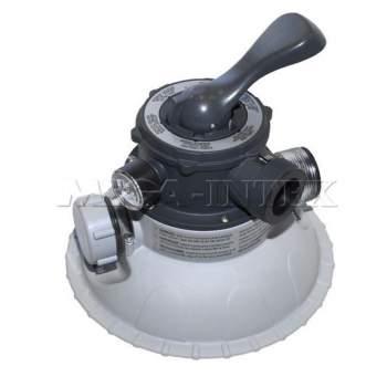 Intex 11721, Шестиходовий клапан для пісочного фільтр-насоса Intex 28644
