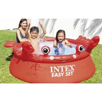 Intex 26100, надувний басейн 183х51 см. Crab Easy Set (Intex 28101)