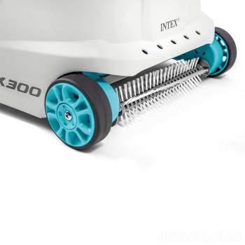 Intex 28005-zx300, донний пилосос, Автоматичний очищувач дна басейнів від 6000 л / год
