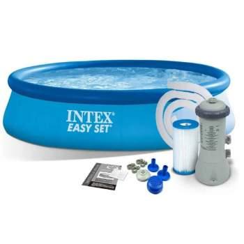 Intex 28118, надувний басейн 305 x 61 см Easy Set (Intex 28122)