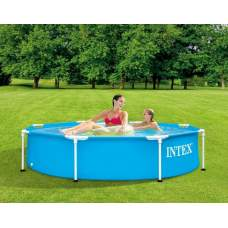 Intex 28205, каркасный бассейн 244 x 51 см Metal Frame Pool