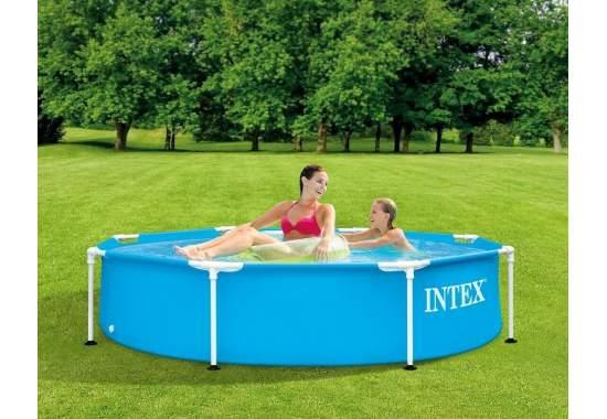Intex 28205, каркасний басейн 244 x 51 см Metal Frame Pool