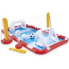 Intex 57147-center, детский надувной центр бассейн Спортивный игровой центр