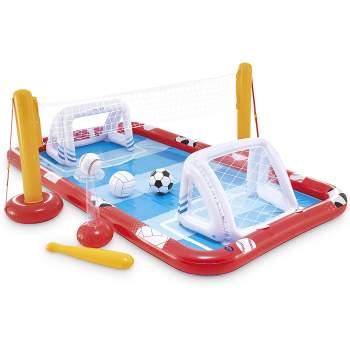 Intex 57147-center, дитячий надувний центр басейн спортивний ігровий центр