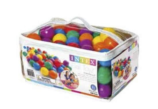 Intex 49602, шарики, 6,5см, 100шт