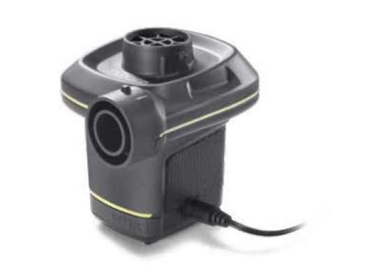 Intex 66634, електричний насос, електр 12V і 220V, 480 л / хв
