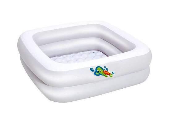 Bestway 51116, надувной детский бассейн 86х86х25 см