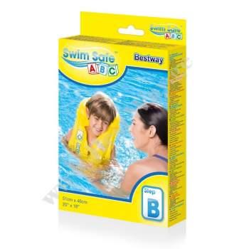 Bestway 32034, надувной жилет для плавания, 51-46см
