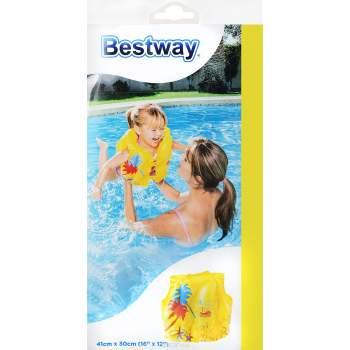 Bestway 32069, надувной жилет для плавания. Тропический 43-30см