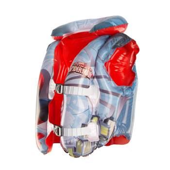 Bestway 98014, надувной жилет для плавания. Spider-Man, 51-46см