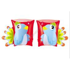 Bestway 32115-parrot, надувні нарукавники для плавання Папуги