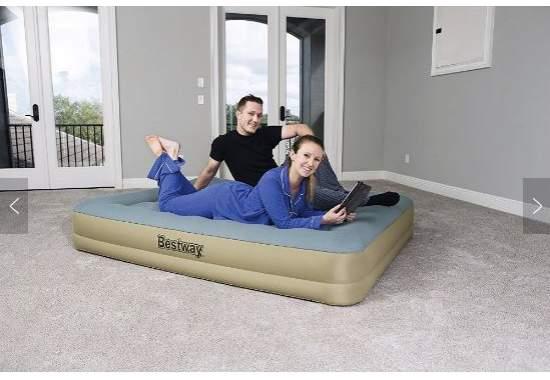 Bestway 69003, надувне ліжко 203 x 152 x 33 см