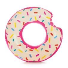 Intex 56265, надувной круг Надкушенный Пончик, 107 см
