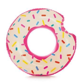 Intex 56265, надувний круг надкушений Пончик, 107 см