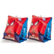 Bestway 98001, надувные нарукавники для плавания Spider-man