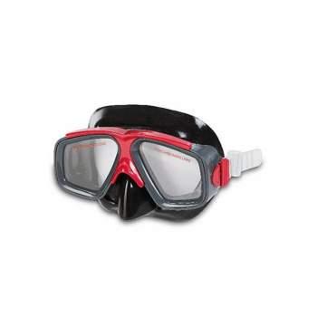 Intex 55975-red, маска для плавання, сіро-Червона