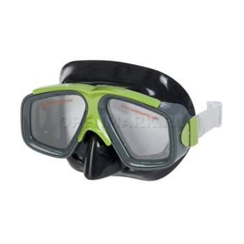 Intex 55975-green, маска для плавання, сіро-зелена