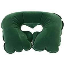 Bestway 67006-green, надувная подушка, подголовник BestWay. Зеленая