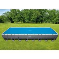 """Intex 29030, обігріваючий тент-покривало """"SOLAR COVER"""" для басейну, 975х488см"""