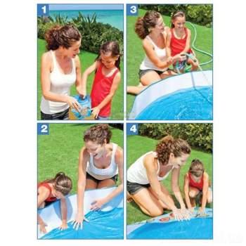 Intex 58477, каркасний дитячий басейн 122 x 25 см Утячий Риф