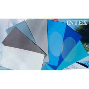 Intex 10860, Універсальний ремкомплект, різНі латки 7+2шт