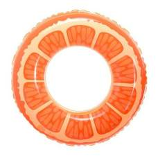 SYNERGY 25546-orange, надувний круг Апельсин, 80 см