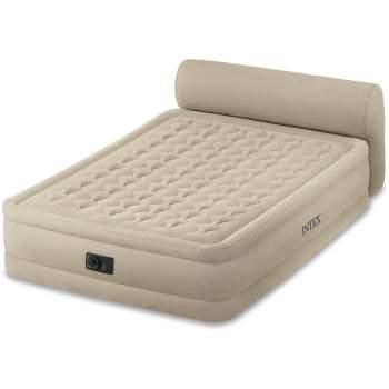 Intex 64460, надувне ліжко 229 x 152 x 79 см з підголовником