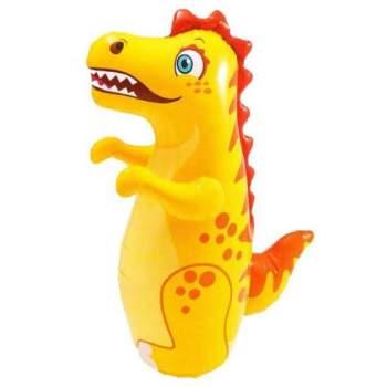 Intex 44669-dinosaur, надувнная фигура-неваляшка Динозавр