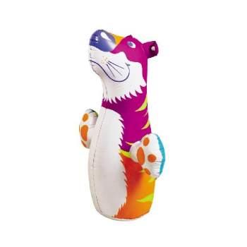 Intex 44669-tiger, надувнная фигура-неваляшка Тигр