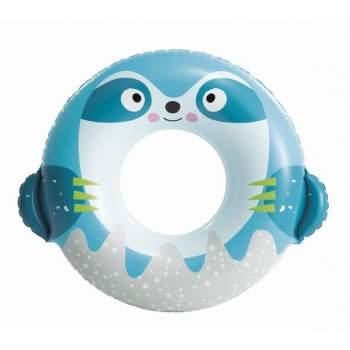 Intex 59266-blue, надувний круг Милі звірята, 84x76 см Блакитний