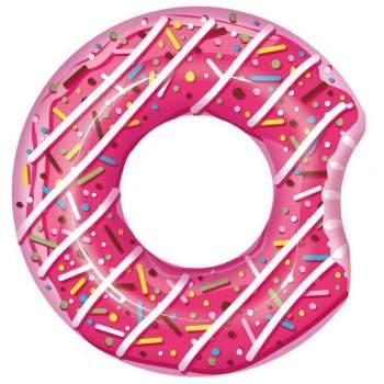 Bestway 36118-pink, надувний круг Рожевий Пончик, 107 см
