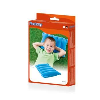 Bestway 67485-blue, надувная подушка, голубая