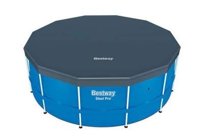Bestway 58037, тент для каркасного бассейна, Д366см