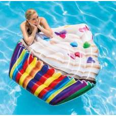 Intex 58770, надувной плотик Кекс-Cupcake