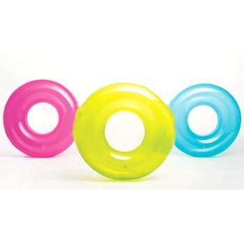 Intex 59260, надувний круг прозорий