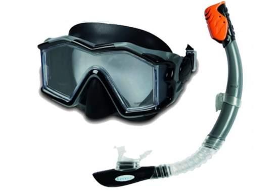 Intex 55961, набір для плавання, маска і трубка, від 14 років