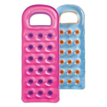 Intex 59895-pink, надувной матрас для плавания. Розовый