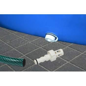 Intex 10201, перехідник для зливу води садовим шлангом