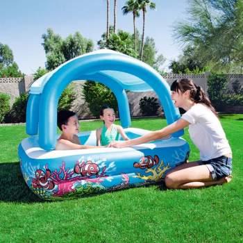 Bestway 52192, надувний дитячий басейн з навісом