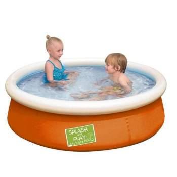 Bestway 57241-orange, надувний басейн, 152x38см. Рожевий