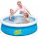 Bestway 57241-blue, надувной бассейн, 152x38см. Голубой
