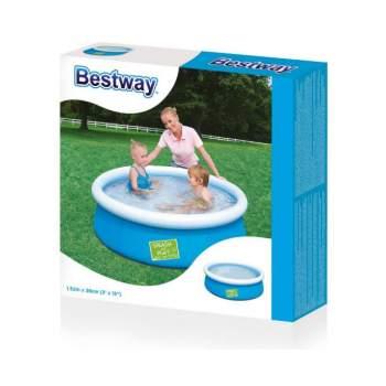 Bestway 57241-blue, надувний басейн, 152x38см. Блакитний