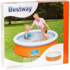 Bestway 57241-orange, надувной бассейн, 152x38см. Оранжевый