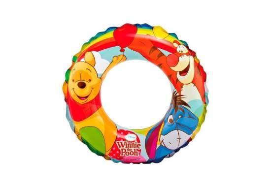 Intex 58228-Winnie-Pooh, надувной круг Винни Пух, 51см