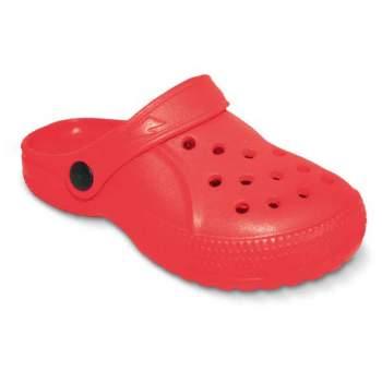 Befado 159x005-czerwony, Детские кроксы. Красные