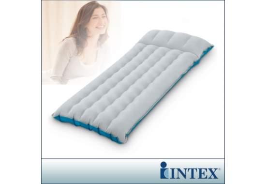 Intex 67997, надувной матрас 184 x 67 x 17 см кемпинговый, тканевый