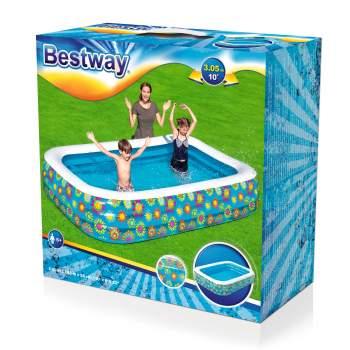 """Bestway 54121, надувний дитячий басейн """"підводний світ"""", 305х183х56см"""