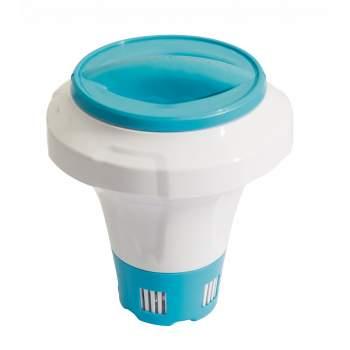 Bestway 58474-blue, Поплавок дозатор з кришкою-рукавичкою для великих хлор-таблеток