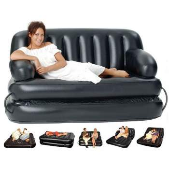 Bestway 75054, надувний диван трансформер 188 x 152 x 64 см (75056 без насоса)